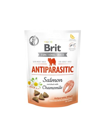 Brit Care Dog Functional Snack Antiparasit Salmon