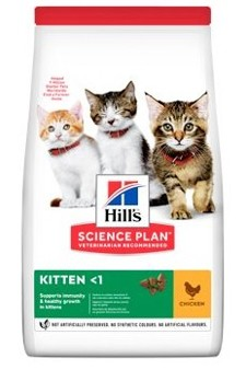 Hills Feline Dry Kitten Chicken NEW