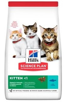 Hills Feline Dry Kitten Tuna NEW