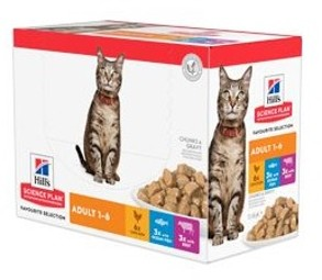 Hills Feline kapsa Adult Chicken&Beef&Ocean fish NEW