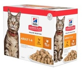 Hills Feline kapsa Adult Chicken&Turkey