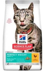 Hills Feline Dry Perfect Weight Chicken NEW