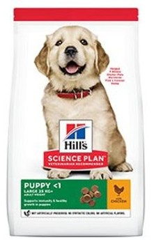 Hills Canine Dry Puppy Large Chicken NEW