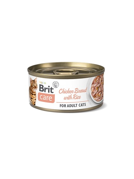 Brit Care Cat konzerva Fillets