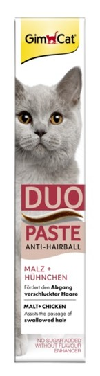 Gimpet kočka Duo pasta Anti-Hairball