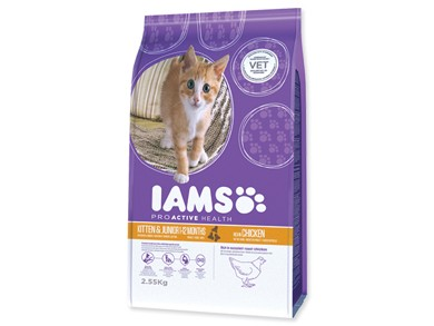 Iams Kitten/Junior Chicken