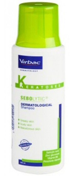 Sebolytic šampon Virbac 200ml