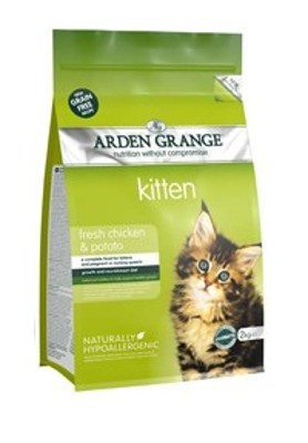 Arden Grange Cat Kitten Chicken&Potato
