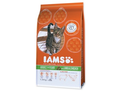 Iams Cat rich in Lamb