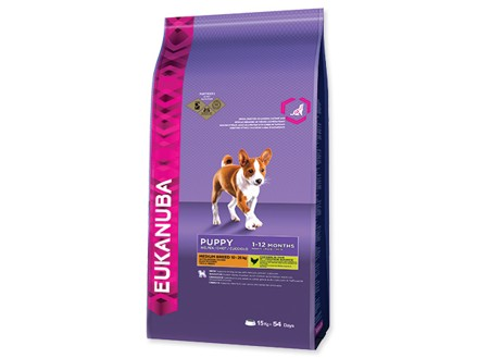 Eukanuba Dog Puppy&Junior Medium Breed