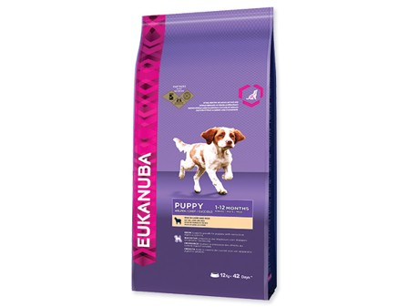 Eukanuba Dog Puppy&Junior Lamb/Rice