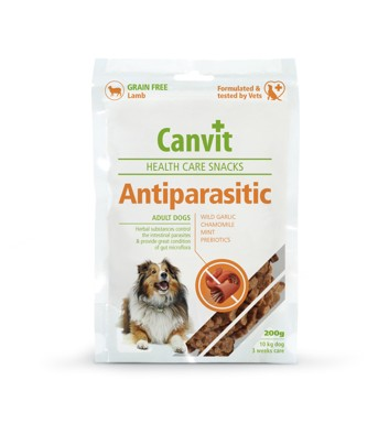 Canvit Snacks Anti-Parasitic