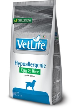 Vet Life Natural DOG Hypo Egg & Rice