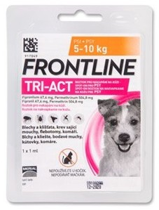 Frontline Tri-Act pro psy Spot-on