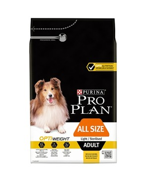 ProPlan Dog All Size Adult Light/Sterilised