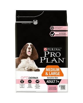 ProPlan Dog Adult 7+ Medium/Large Sensitive Skin