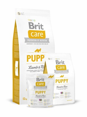 Brit Care Dog Puppy Lamb/Rice
