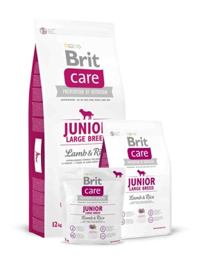 Brit Care Dog Junior Large Breed Lamb/Rice