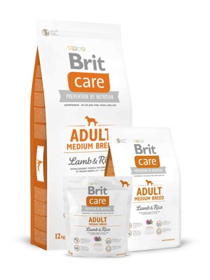 Brit Care Dog Adult Medium Breed Lamb/Rice