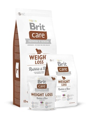 Brit Care Dog Weight Loss Rabbit/Rice
