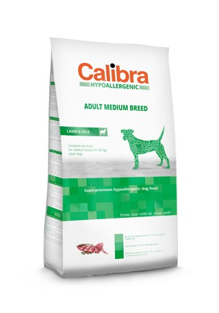 Calibra Dog HA Adult Medium Breed Lamb