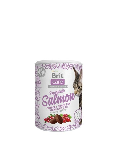 Brit Care Cat Snack Superfruits Salmon