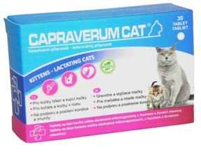 CAPRAVERUM CAT kittens-lactating cats