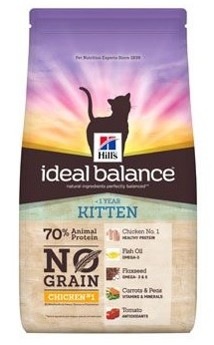 Hills Feline Ideal Balance Kitten NO GRAIN
