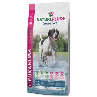 Eukanuba Dog Nature Plus Adult Grain Free Salmon