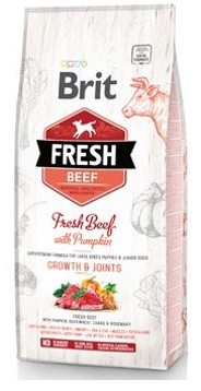Brit Fresh Dog Beef & Pumpkin Puppy Large