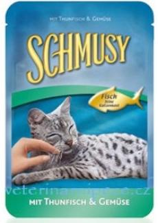 Schmusy Cat kapsa Fish