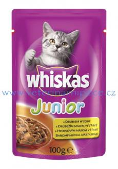 Whiskas kapsa Junior