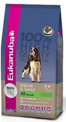 Eukanuba Dog Mature Senior Lamb/Rice
