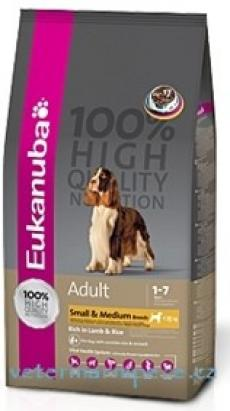 Eukanuba Dog Adult Lamb/Rice Small+Medium Breed